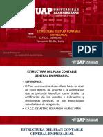 Extructura Del Plan Contable Empresarial