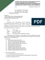 8. Surat Permohonan Usulan Koordinator Dan Peserta UNIV & POLTEK Jambi