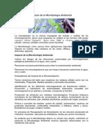 Impacto de La Microbiología Ambiental