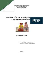 PREPARACIÓN DE SOLUCIONES EN EL LABORATORIO CLÍNICO - Guía Práctica