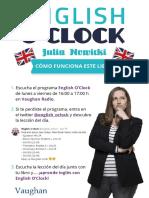 English o Clockcomo Funciona
