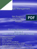 Strategic Management - Module 2 Part II