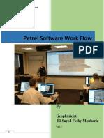 Petrel Software Work Flow Part 2