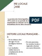 Histoire Locale Française