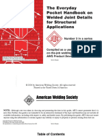 AWS PHB 3 the Everyday Pocket Handbook on Welded Joint Details for Structural
