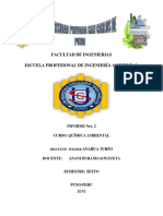 Informe Nº 02 Quimica Ambiental