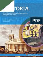 Historia. Argentina, América y Europa Durante Los Siglos Xviii y Xix