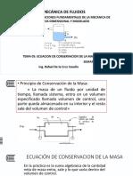 TEMA 05 ECUACION DE CONSERVACION DE LA MASA.pptx