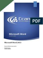 Manual Avanzado Word 2013