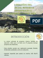 DESAFIOS DEL POTENCIAL MINERO.pptx