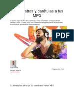 Inserta letras y carátulas a tus MP3.docx