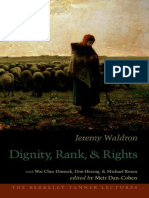[Berkeley Tanner Lectures] Jeremy Waldron, Meir Dan-Cohen - Dignity, Rank, and Rights (2012, Oxford University Press).epub