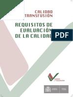 Guia de calidad del serviico transfusional