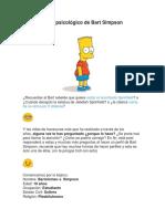 Perfil Psicológico de Bart Simpson