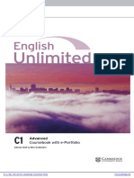 English Unlimited Advanced Coursebook With e Portfolio Frontmatter