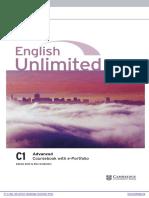 English Unlimited Advanced Coursebook With e Portfolio Frontmatter