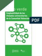 Libro Verde de La Empleabilidad de Los Titulados Unversitarios de La Comunitat Valenciana