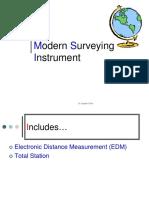Modern Surveying