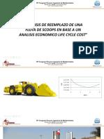 Adolfo Casilla - Análisis de Reemplazo de Una Flota de Scoops en Base a Un Análisis Económico Life Cycle Cost