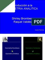 introducción a la geometría analítica