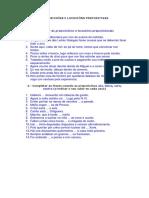 Preposicións e Locucións Prepositivas