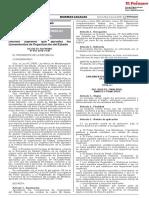 Ds 054-2018-Pcm Lineamientos de Organizacion Del Estado