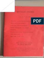 Socialist Studies 50