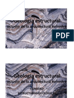 Materia Para 2 Prueba. Geología Estructural_2 Unidad Clase 1