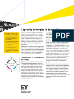 EY Capturing Synergies in Dealmaking