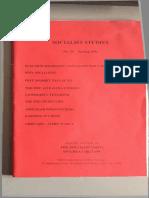 Socialist Studies 39