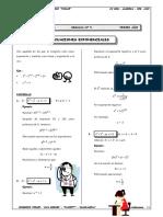 Guia 5 - Ecuaciones Exponenciales