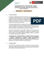 Memoria Descriptiva C Pampachiri Ccenta