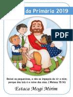 Capa Agenda Da Primaria 2019