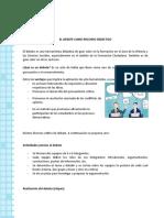 FICHA DEL DEBATE.doc