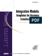Integration Models - Templates for Business Transformation