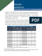Comite de Data__o de Ciclos Econ_micos - Comunicado de 30-10-2017