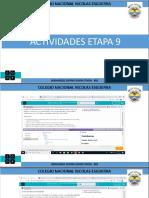 ACTIVIDADES ETAPA 9