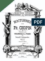 -Chopin - Nocturne 10 Op32 No2 Grutzmacher Cello Piano