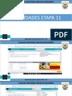 ACTIVIDADES ETAPA 11