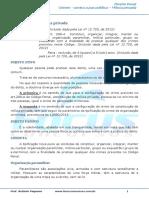 Crimes Contra a Paz Pública - Constituição Da Milícia Privada - 002142