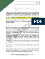 La evaluación de los aprendizajes en el Nivel Primario y su registro. Final (1).docx