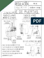 THYSSEN (Instrucciones de Regulacion de Las Puertas P-91T)