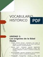 Vocabulario Histórico U1