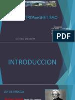 DIAPOSITIVAS GRUPO 3 ELECTROMAGNETISMO LEY DE FARADAY, LEY DE LENZ