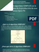METODO SIMPLEX PARA MINERIA A TAJO ABIERTO