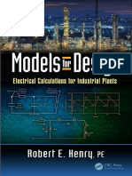 Models for Design Electrical Calculations for Industrial Plants