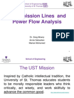 Tuti Transmission Lines and Power Flow Analysis