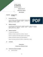 Programa Derecho Civil VI Derecho de Familia Aprobado El 11-11-09