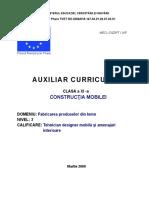 Constructia mobilei.doc