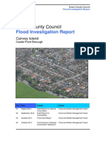 Flood Investigation Report Can Vey Island